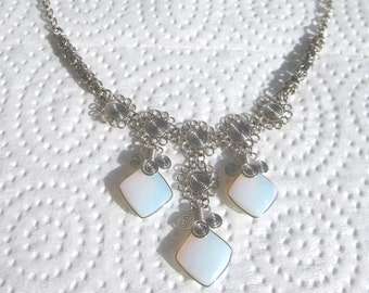 Peruvian Opalite Stone Necklace #47