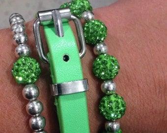 The green bling set