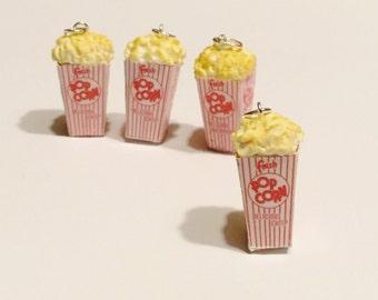 Miniature Vintage Popcorn - Polymer Clay Charm