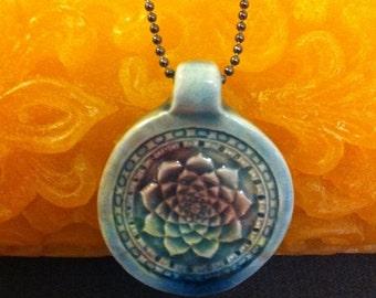 SUMMER SALE Lotus Flower Necklace