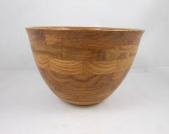 Segment  White Oak Bowl