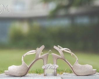 Pearl & Crystal Wedding comb