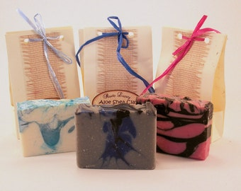 Variety 5 Pack of Hand Crafted Soaps