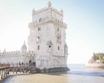 Portugal Photography - Fine Art Photography - Lisbon Portugal Fine Art Photography - Portugal Art Print - Torre de Belem - Belem Tower