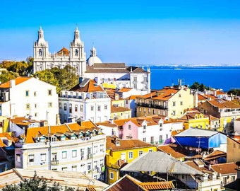 Portugal Photography - Portugal Fine Art Photography - Lisbon Portugal Fine Art Photography - Portugal Art Print - View of Portugal