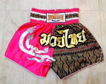 Muay Thai Boxing Shorts - Pink