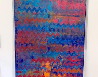 """Original Acrylic Painting Titled """" Arizona"""""""