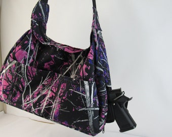 Muddy Girl CAMO Concealed Carry Purse Small