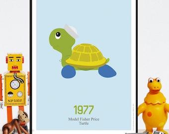Displays vintage - turtle - a download