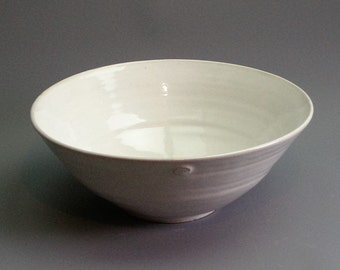 Large Serving Bowl - Hand Thrown Pottery