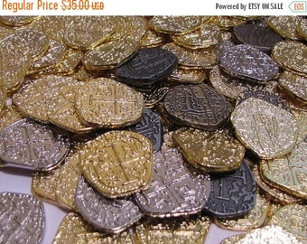 10% Xmas in July 50 Pirate Coins doubloons BEST DEAL on this TREASURE