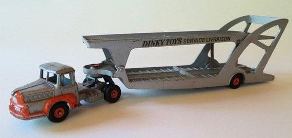 Vintage Dinky Toys Car Transporter #39A