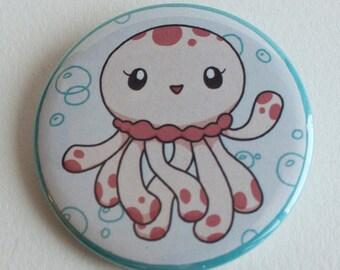 Princess Jellyfish Clara Pinback Button