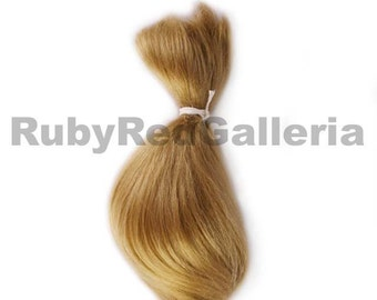 Ash Blonde Curve Mohair for Rooting Reborn Doll Supply 5630