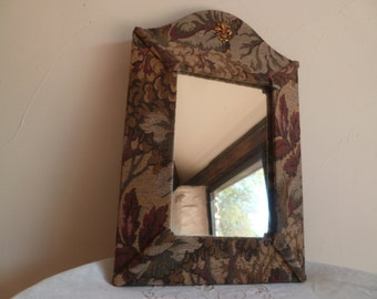 French Vintage mirror /Material famed Mirror/french home decor/bedroom/decor/Margalide