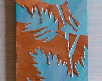 Metal Fern Leaf Etsy
