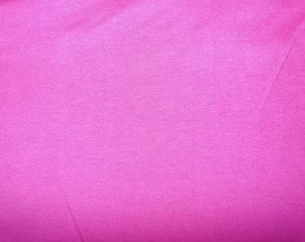 Fabric - cotton jersey fabric - hot pink