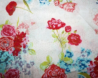 SALE - Art Gallery - Skopelos floral print cotton fabric.