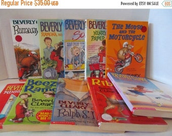 Beverly Cleary - 10 Book Set - Ramona, Socks, Henry, Mouse and Motorcycyle, Beezus, Ralph S Mouse, Ribsy, Runaway Ralph