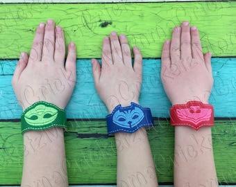 PJ Heroes bracelet, costume, party favor