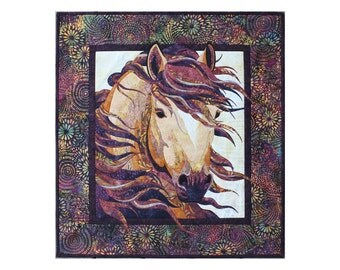 Toni Whitney Design Summer Breeze Horse Applique Quilt Pattern