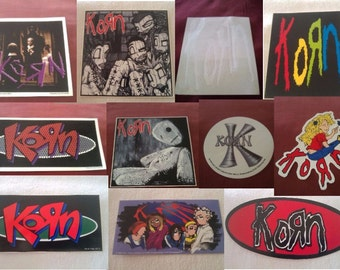 KORN Stickers Decals