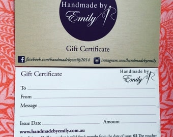 Gift Certificate - 20