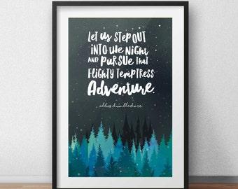 Harry Potter Print // Dumbledore Quote