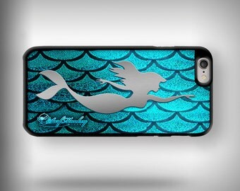 iPhone 6+ / 6s+ case with Full color custom graphics - Mermaid