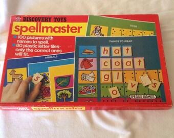 Spellmaster letter game