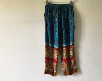 Vintage 80s Capris Pants