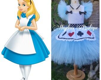 Alice in Wonderland Disney Tutu Dress