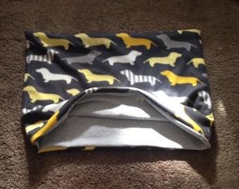 Dachshund Wiener Dog Doxie Puppy Pocket Dog Bed Blanket