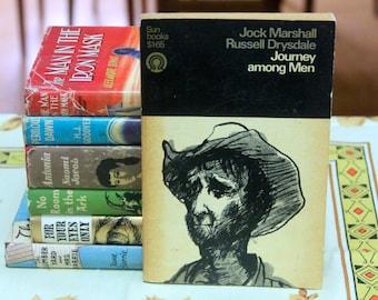 Sun Books 1968 Penguin  paperback edition of Journey Among Men  - Jock Marshall Russel Drysdale
