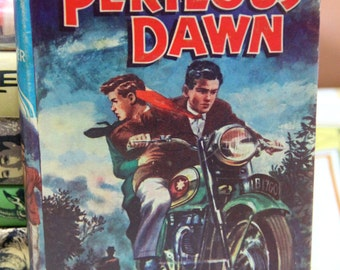 "A striking 1960s Childrens Press  Series of ""Perilous Dawn "" by H.J.Goodyer"