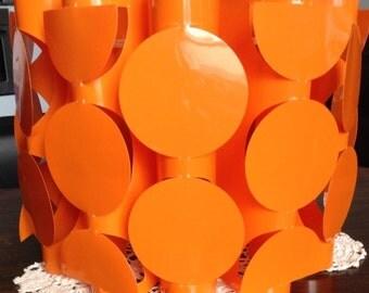 Vintage 1970's Original Plastic Lampshade