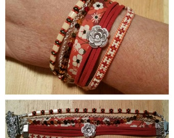 "Cuff multi-row ""Madan"""