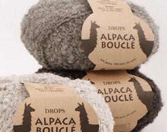 Drops Garnstudio Alpaca Boucle
