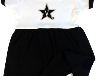 Vanderbilt Commodores Baby Bodysuit Dress