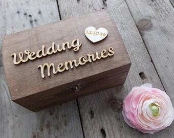 Wedding box 'Memories' - wedding box, wedding decoration, wedding accessoires, wedding gift