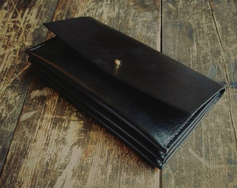 Handmade Leather concertina wallet/purse
