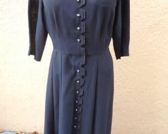 Vintage 1940s dresses | Etsy