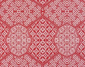 Geometric Honeycomb Mandala Cardinal Wallpaper R1889