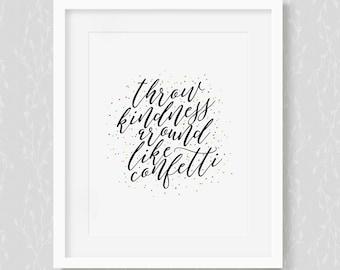 Kindness Confetti - Art Print