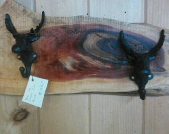 Cedar Deer Coat Rack