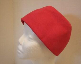 Pink Hat Ladies Vintage Skull Cap