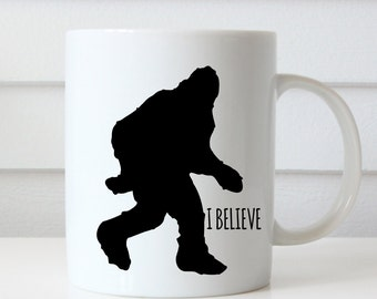 Bigfoot Mug, Big Foot Mug, Sasquatch Mug, Funny Mug,  Yeti Mug, Mythical Creatures, Ceramic Mug, Big Foot Gift, Yeti Cup, Big Foot Cup