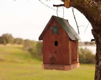 Amish Handcrafted Bird House