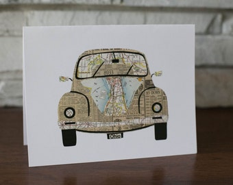 VW Bug Note Cards