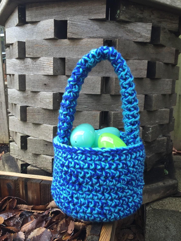 Handmade Crochet Basket : Crochet basket handmade baskets holiday baby shower